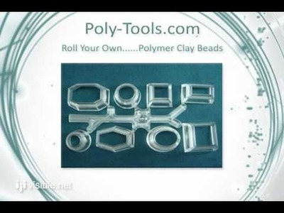 Poly Tools - Polymer Clay Cutters Bead Rollers Craft Supplies