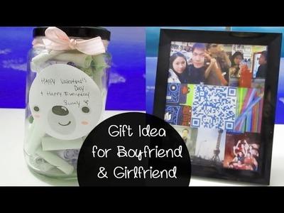[Sunny DIY] Three Thoughtful Gift Idea for Boyfriend.Girlfriend