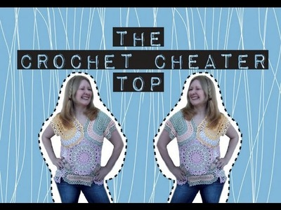 The Crochet Cheater Top: how-to fake crochet & refashion those vintage doilies