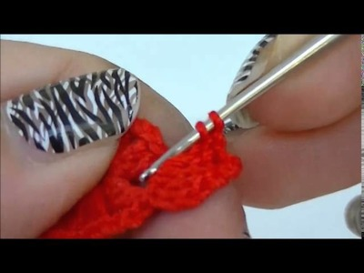 TUTORIAL farfalla uncinetto how to crochet a butterfly parte 1 di 2
