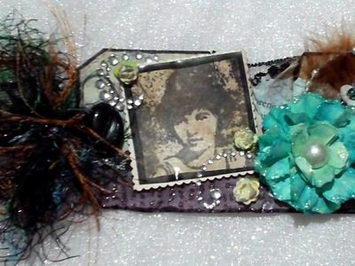 Vintage Tag perfect for heritage scrapbook layouts