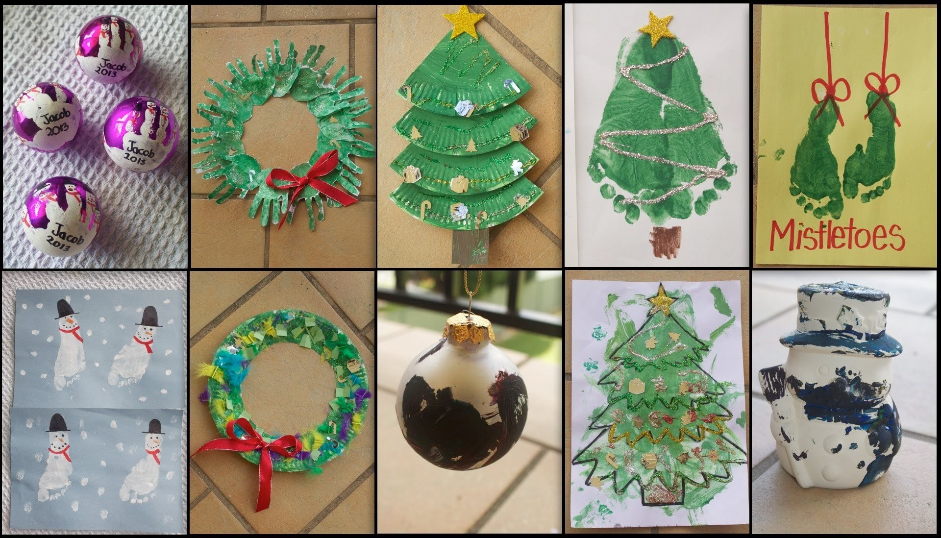 10 CHRISTMAS CRAFTS FOR TODDLERS!