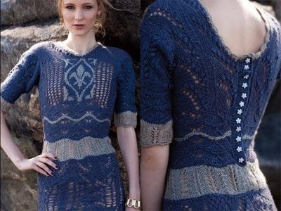 #14 Sweater Dress, Vogue Knitting Fall 2013