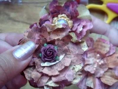 3rd paper Flower tutorial