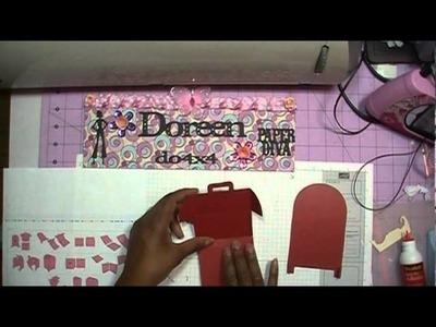 Assembly of Cricut Craft Room 3d  Mailbox
