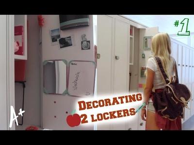 Back to school: Organizing my 2 lockers+ DIY Decorations!