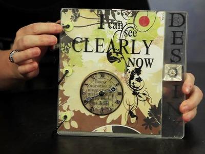 Beginner Scrapbook Tutorials - Part 5 - Album Creation