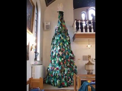 Burrswood Knitted Christmas Tree