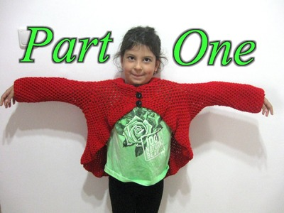 Butterfly Stitch Circular Jacket - Part 1 - Crochet Tutorial