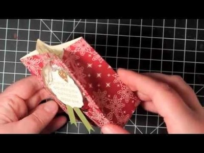 Countdown to Christmas - Mini Gift.Treat Bag - featuring Stampin' Up!