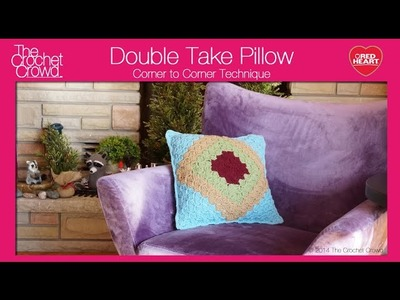 Crochet Double Take Pillow Tutorial