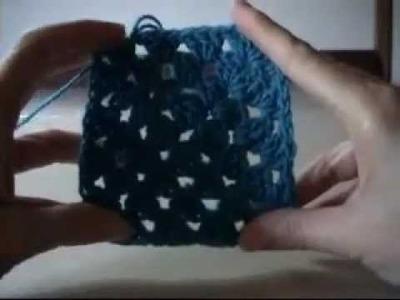 Crochet Granny Square Round 4 of 4