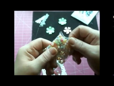 DIEMOND DIES DT PROJECT -  POCKET LETTER SHAKER CARDS TUTORIAL AND PROCESS VIDEO