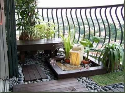 DIY Balcony garden decorations ideas