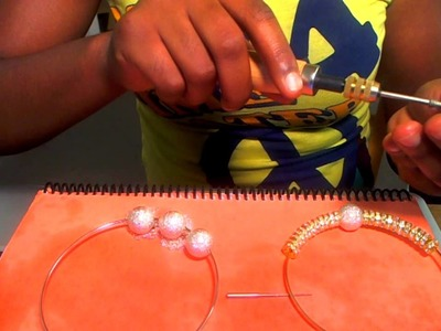 DIY: Basketball Wives Inspired Hoops for $5!!!