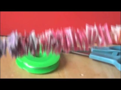 DIY: Candy Wrapper Garland. ((Christmas, Holiday, Birthday Party, && Room Decoration))