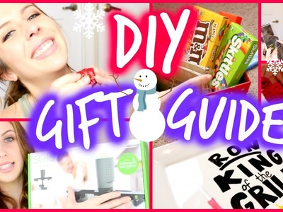 DIY Christmas Gift Ideas & Gift Guide! | Courtney Lundquist
