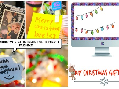 DIY Christmas Gift Ideas for Family + Friends!