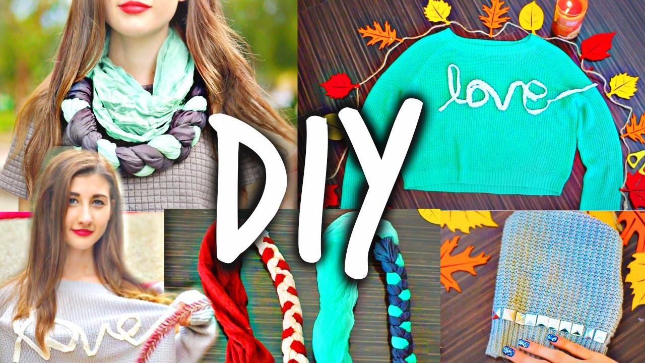 DIY Clothes for School!