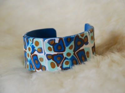 DIY Craft How To Make a Polymer Clay Bracelet