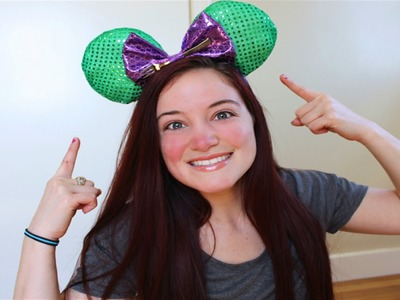 DIY DISNEY MICKEY MOUSE EARS TUTORIAL