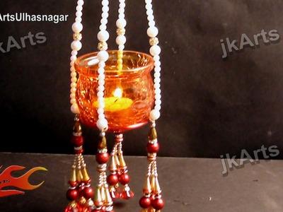 DIY Hanging Candle. Votive Holder - JK Arts 569