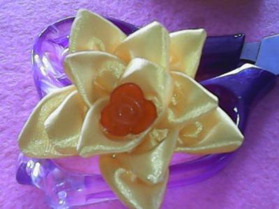 DIY-kerajinan tangan kreasi pita satin sederhana-crafts creations simple satin ribbon