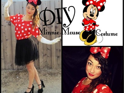 DIY Minnie Mouse Costume! | Simply Just Rebekah