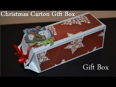 DIY Origami Christmas Gift Box - Tutorial