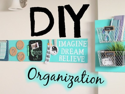 DIY Room Decor Organization! Easy & Cheap!