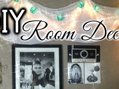 DIY: Room Decor | Tumblr Inspired Wall Art