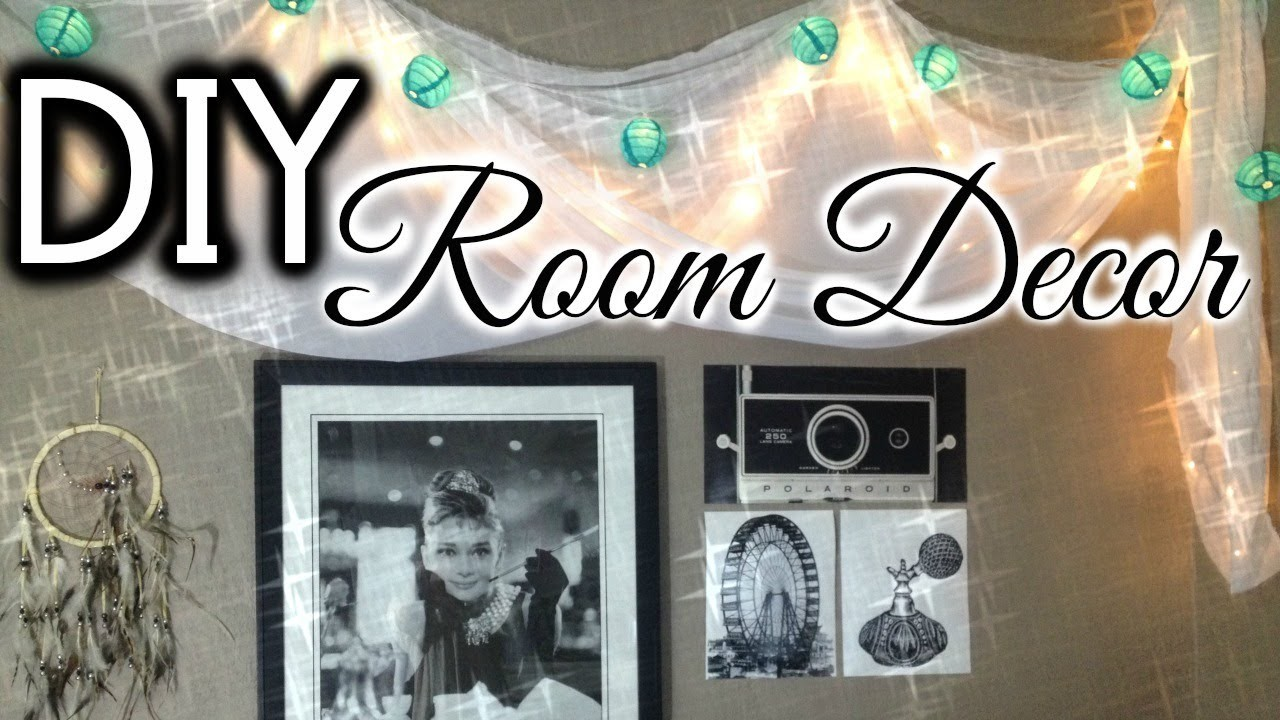 Diy Room Decor Tumblr Inspired Wall Art