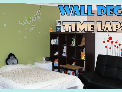 DIY Wall Decal Time Lapse