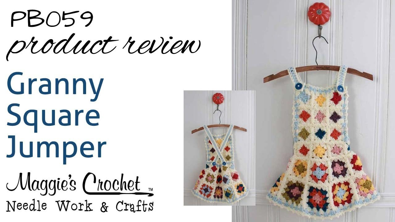 Granny Square Jumper Product Review PB059