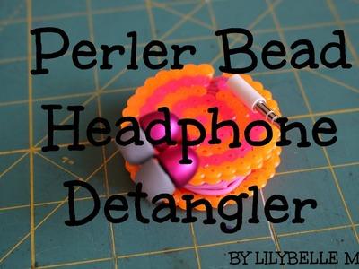 Headphone Detangler from Perler Beads| LilyBelle Morris