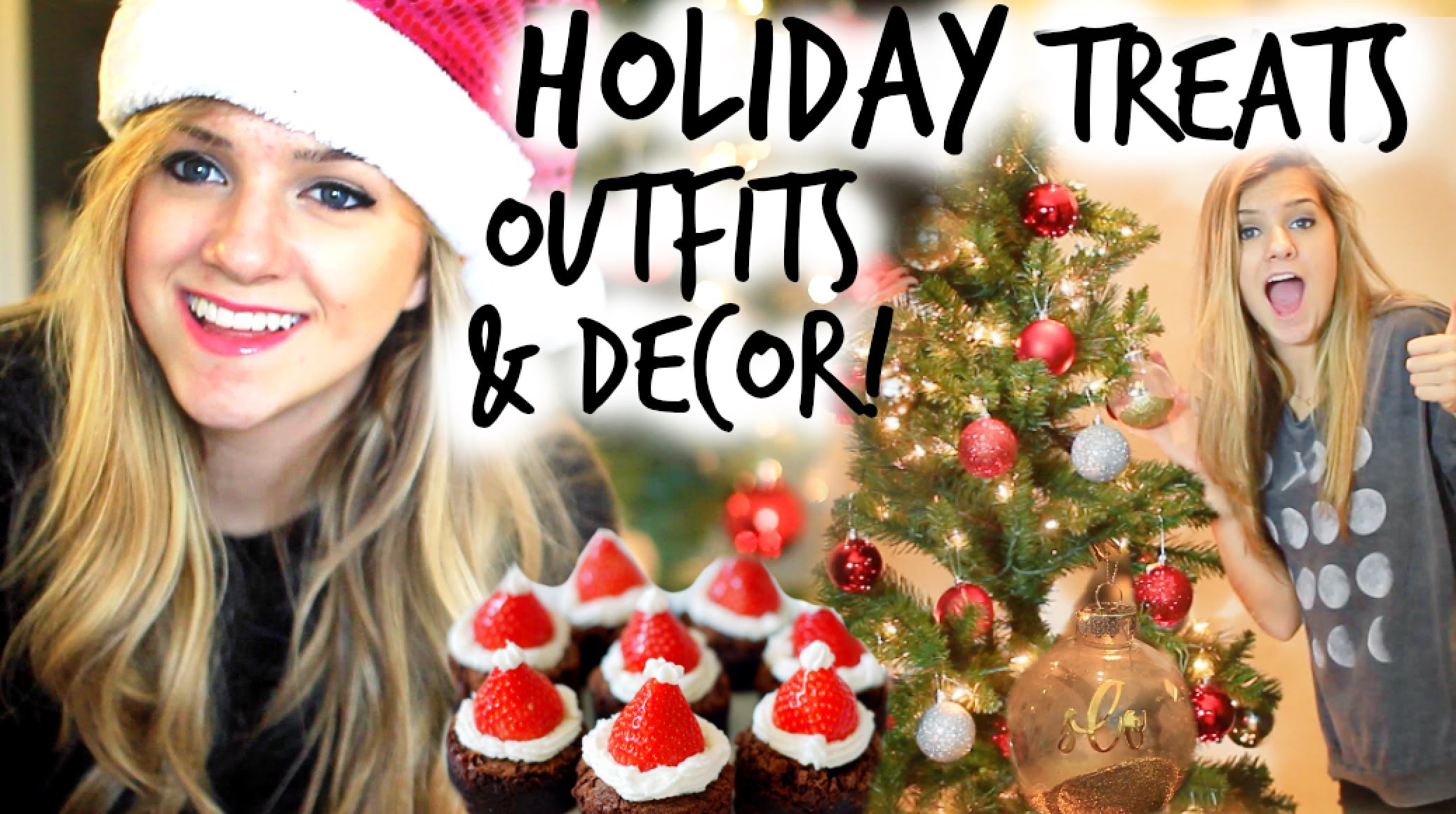 Holiday Party Decor, Treats & Outfit Ideas for Winter!