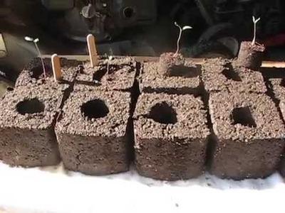 Homemade Soil Blocker Maker (free - DIY)