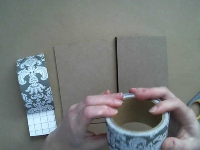 How-to Bind a Scrapbook Using Duck Tape