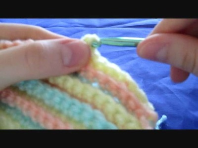 How to Crochet. Single Crochet Rib Stitch