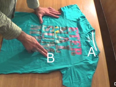 How to Fold a T-Shirt the Chinese Way : DIY Crafts