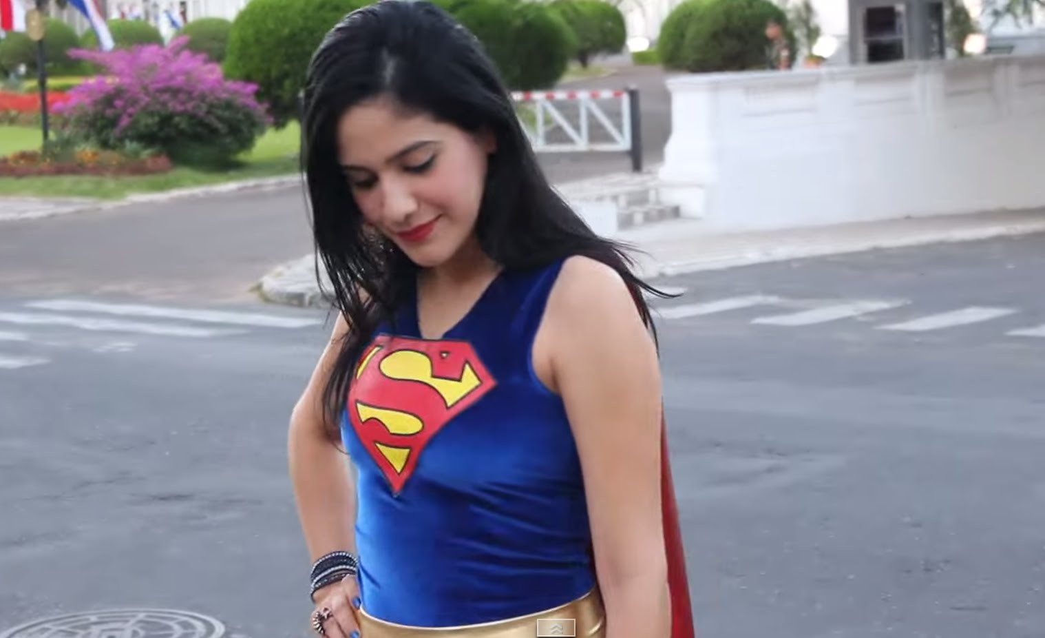 How to make a Super Girl costume #DIY