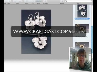 How to make earrings in Metal Clay
