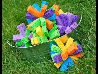 How to Make Sponge Bombs (EASY)