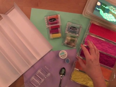 How to Organize & Clean-up Your Rubber Stamps and Powders