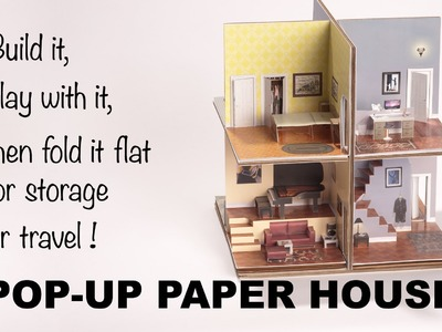 Introducing the Pop-Up Paper House
