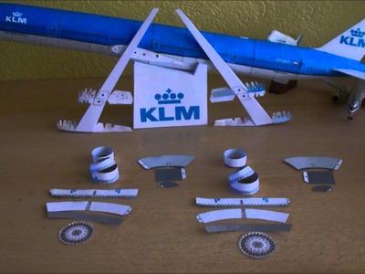 KLM B777-300ER Papercraft