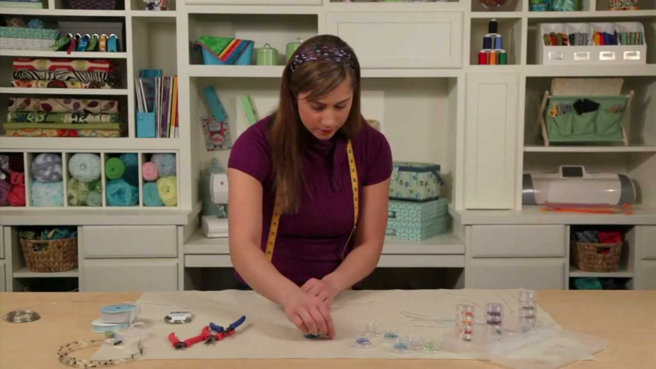 Learn with Jo-Ann: How to Make a Wire & Bead Headband