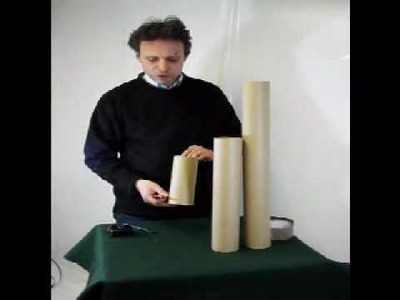 Mailing Tube Lengthening - How To Create The Cardboard Postal Tube To The Right Length