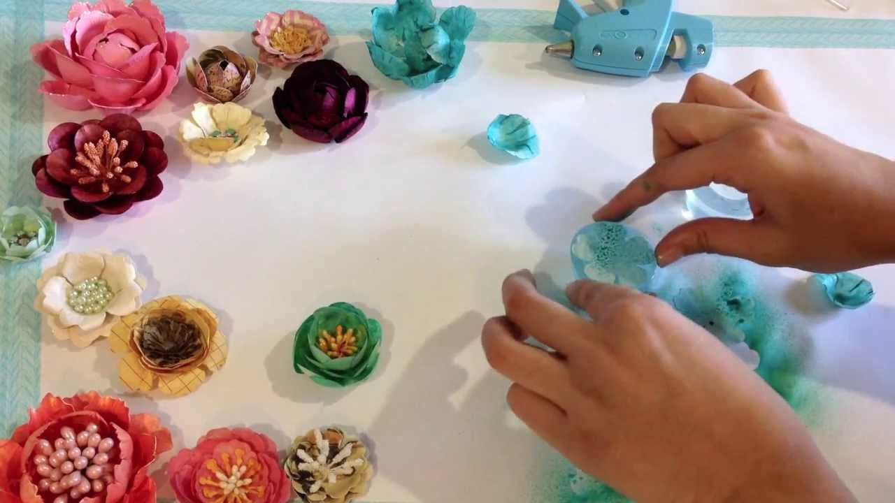Make Your Own Paper Flowers With The Bloom Impressions Tool