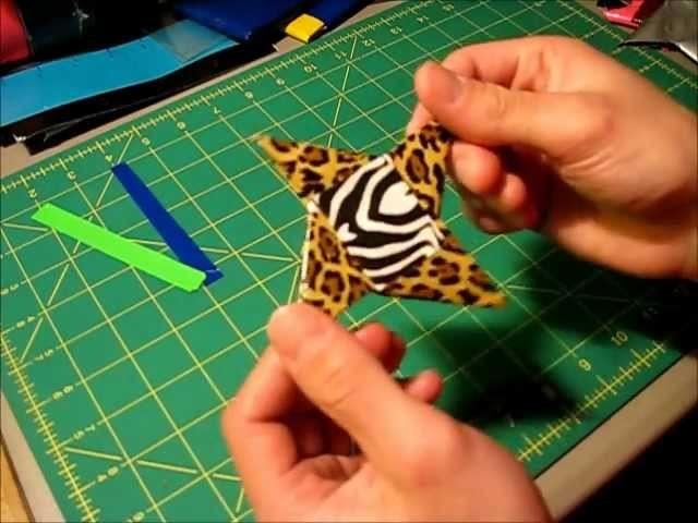 Mini tutorial - Duct tape Ninja star (Method 2)